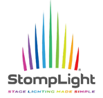 Stomplight Professional DMX Lighting FX Pedal